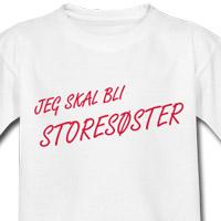 Jeg kommer til å bli storesøster T skjorte barn | Spreadshirt